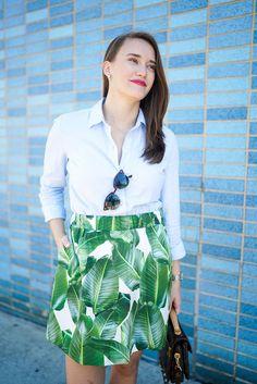 Palm Skirt 😍😍😍