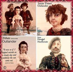 #Outlander #knitted #doll #clan #scotland #scottish #tarta…   Flickr