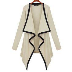 amazones gadgets De novo moda cabo de mulher algodão penteado irregular casaco de lã de outono tr: Bid: 55,36€ Buynow Price 55,36€…