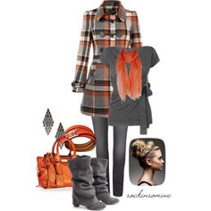 A fashion look from November 2012 featuring Yumi coats, AllSaints jeans and Burberry tote bags. Browse and shop related looks.