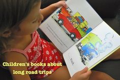 Books about road trips- to prepare kids before you go!