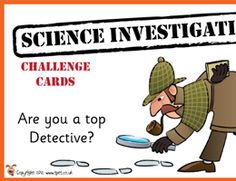 KS1 Science Investigation Challenge Cards http://activities.tpet.co.uk/#/viewResource/id554