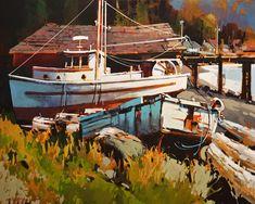Alert Bay, B.C., by Michael O'Toole