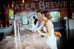 Hoppily Ever After Brewery Wedding at SweetWater Brewing Company in Atlanta by Scarlet Plan & Design for Revolution Wedding Tours