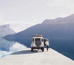 Road trip in Norway. From kympham's instagram.