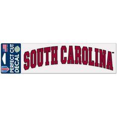 "South Carolina Gamecocks WinCraft 3"" x 10"" Arch Perfect Cut Decal - $6.99"