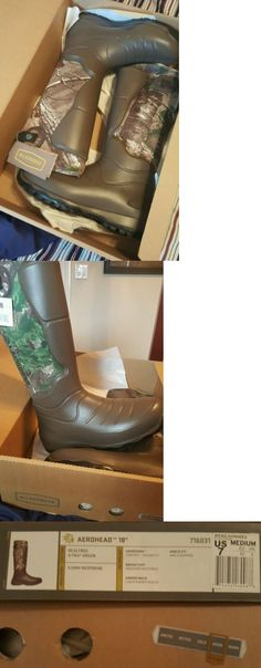 Hunting Footwear 153008: Lacrosse Aerohead 18 Realtree X-Tra Boot Size-7 -> BUY IT NOW ONLY: $79.99 on eBay!