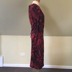 Hugo Boss Dresses | Hugo Boss Red Sheath Dress | Poshmark Boss Dresses, Sophisticated Dress, Abstract Animals, Hugo Boss, Sheath Dress, Soft Fabrics, Bodice, Long Sleeve, Sleeves