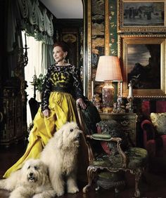 Ann Getty Opens the Doors of her Dazzling Home «