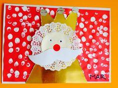Tapa d'album rei mag Tapas, Christmas Crafts For Kids, Winter Christmas, Craft Projects For Kids, Activities For Kids, Chrismas Cards, Sunday School Crafts, Epiphany, Album