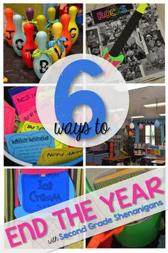 6 Ways to End the Year - 2nd Grade Shenanigans  Love these ideas!