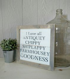 Check out this item in my Etsy shop https://www.etsy.com/listing/271047518/wood-framed-sign-farmhouse-shiplap-love