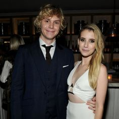 Emma Roberts Engaged to Evan Peters!