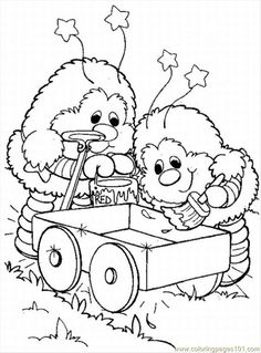 Printable Coloring pages rainbow brite 23043 rainbow brite
