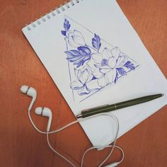 Obviously not an #artist but it goes great if you need to spend you time. #earphones #sketch #pen #orchids #tattoo #flowers #geometric #design #ragnboneman #pions # via Earphones on Instagram - Best Sound Quality Audiophile Headphones and High-Fidelity Premium Earbuds for Hi-Fi Music Lovers by AudiophileCans