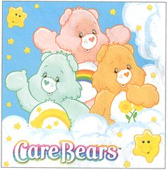 Care Bears. I still have all of my Care Bears, now they belong to my little girl:)