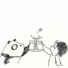 【一日一大熊猫】 2015.8.12 苦くない甘めのフレーバービールなんてのがあるみたいだね。 面白そうだから色々と飲んで見ようっと。 #ビール #パンダ http://osaru-panda.jimdo.com