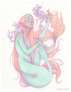 « Naiad » par Audra Auclair
