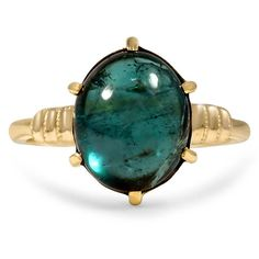 10K Yellow Gold The Laverna Ring from Brilliant Earth