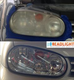 Headlight Restoration, Car Cleaning