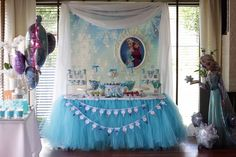 Frozen (Disney) Birthday Party Ideas | Photo 5 of 16 | Catch My Party