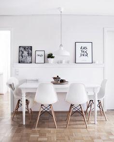 Parisian / Scandinavian interior - office / desk inspiration ...