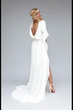 Robe de mariee creatrice - Rime Arodaky  Robe Zoé dos    Prix: à partir de 2500 euros