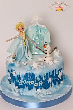Tort Frozen pentru Hannah