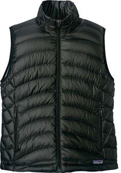 Women's Patagonia Down Sweater Vest 84627 - Black Sweater Vests - $150.00