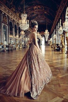 Josephine Skriver by Patrick Demarchelier for Dior Couture