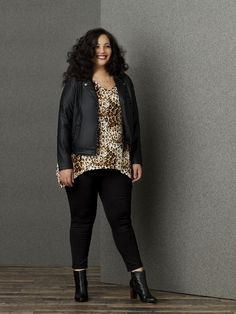 First Look: Simply Emma featuring Girl With Curves, Tanesha Awasthi http://thecurvyfashionista.com/2016/11/simply-emma-girl-with-curves/  Did you hear that Sears has launched a plus size collection? The Simply Emma Collection featuring blogger Girl With Curves gives us a few key items to update our wardrobe with!