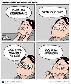 Hugot Lines Tagalog Funny, Tagalog Quotes Funny, Hugot Quotes Tagalog, Pinoy Quotes, Jokes Quotes, Qoutes, Filipino Quotes, Filipino Funny, Memes Pinoy