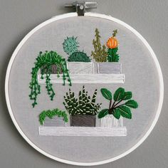 Embroidery by Andrea Beiko on Etsy More like this |