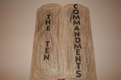 Ten Commandments Lap Book - Tapestry of Grace Week 7 Lower Grammar