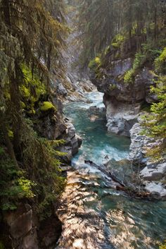 Johnson Canyon -  Banff National Park - Alberta, Canada