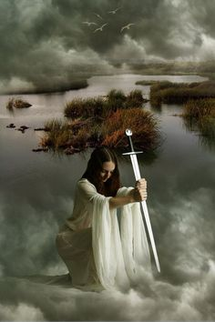 Lady of the Lake,  Viviane, who  learns her magic from Merlin, he ultimately becomes madly in love with her....: