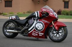 Victory turbo motorcycle