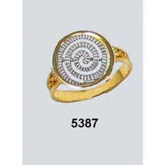 Δακτυλίδι Σπείρα Α Σαγρέ Χρυσό Κ14 Kallin Skeleton, Accessories, Skeletons, Jewelry Accessories