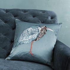 I love the Crane Silk Pillow Cover on westelm.com