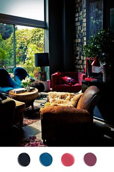 Home design interior design interior decorators de casas Glamour Décor, Home Interior Design, Interior And Exterior, Modern Interior, Home Modern, Interior Office, Studio Interior, Interior Livingroom, Interior Plants