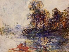 Claude Monet The River oil painting reproductions for sale