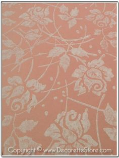 Roses  Pattern Roller by Decorette on Etsy, $20.00