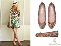 Olivia Palermo y su outfit primaveral de #PrettyBallerinas.  #PrettyBallerinasMx
