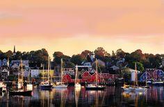 Lunenburg - UNESCO World Heritage Site - Nova Scotia - NS Tourism Photo