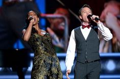 Audra McDonald (L) and Neil Patrick Harris perform onstage at The 67th Annual Tony Awards at Radio City Music Hall on June 9, 2013