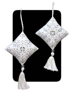 Hardanger Crystal Snowflake Ornaments                                                                                                                                                      More