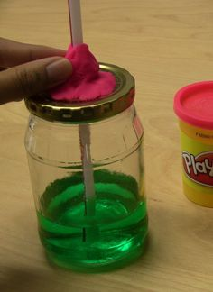 Directions for making your own thermometer - great for my temperature measuring lesson in math