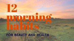 If you can create a healthy foundation to build your day upon, you will feel better, look better, and feel more confident and certain throughout your day. Without a plan, mornings can feel chaotic and leave you feeling drained without the energy to face your biggest tasks.  Here are some suggestions to help you feel healthier and more beautiful each day.