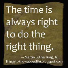 Martin Luther King, Jr. quote ... www.thingstoknowaboutlife.blogspot.com