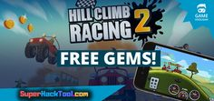 Hill Climb Racing 2 hack is finally here and its working on both iOS and Android platforms. Hill Climb Racing, Play Hacks, App Hack, Private Server, Game Resources, Gaming Tips, Game Update, Test Card, Free Gems